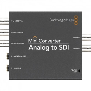 Blackmagic Design Mini Converter Analoog - SDI