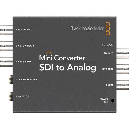 Blackmagic Design Mini Converter SDI - Analoog